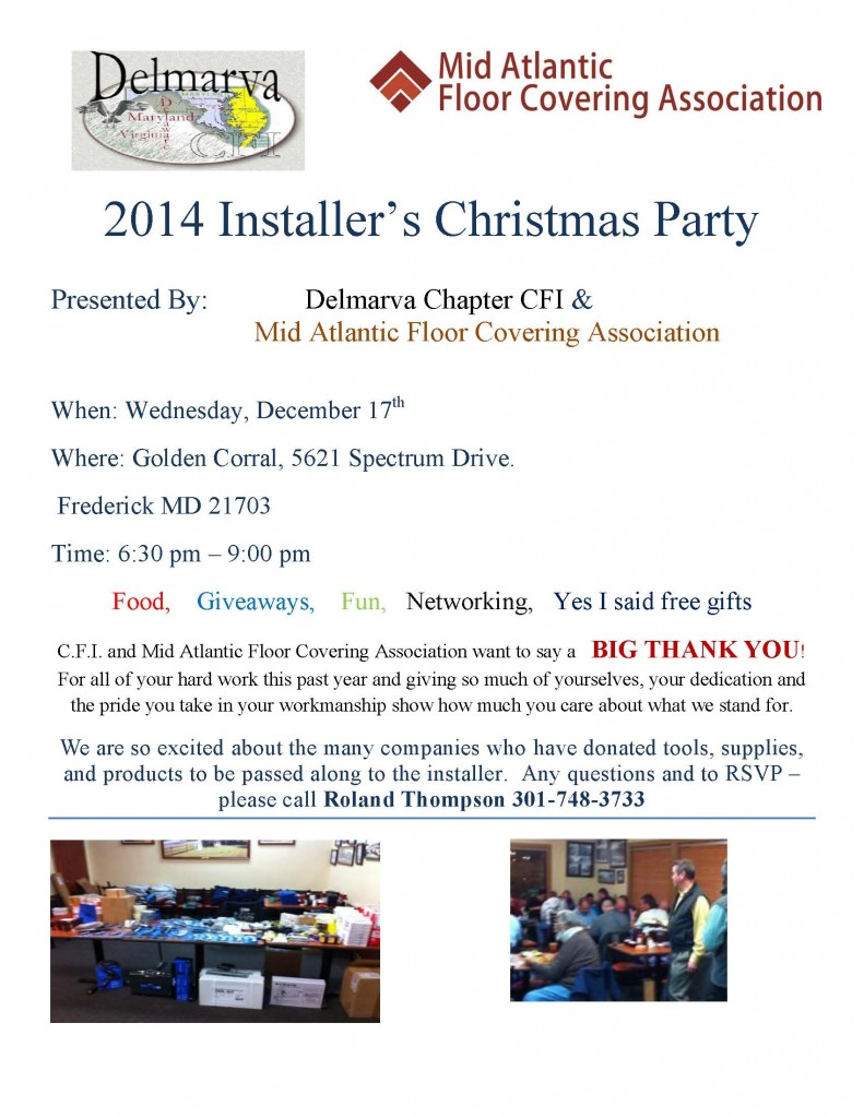 2014 Installers Christmas Party